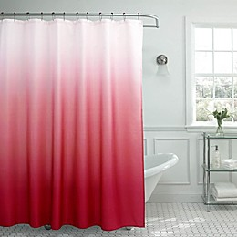 Ombre Weave Shower Curtain