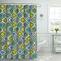 Oxford Shower Curtain with Rings