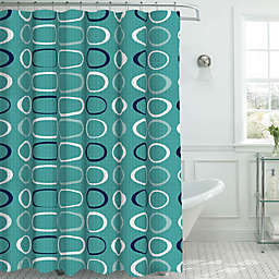 Terrell Shower Curtain with Hooks