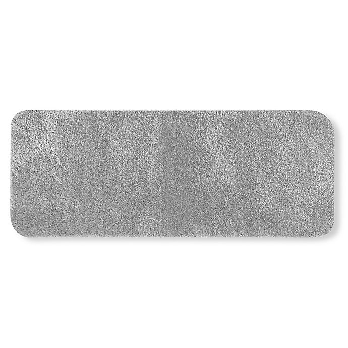 Alternate image 1 for Wamsutta® Duet 24-Inch x 60-Inch Bath Rug in Chrome
