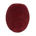 Wamsutta® Duet Elongated Toilet Lid Cover in Wine