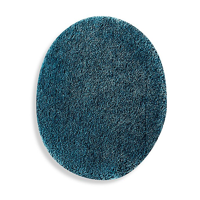 Alternate image 1 for Wamsutta® Duet Elongated Toilet Lid Cover in Teal