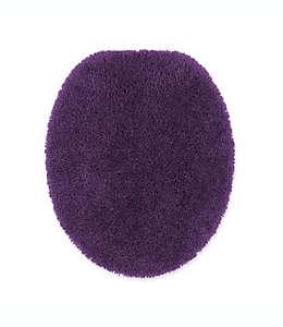 Cubierta alargada de nylon para tapa de inodoro Comforel® Wamsutta® Duet color púrpura azulado