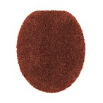 Wamsutta® Duet Elongated Toilet Lid Cover in Brick