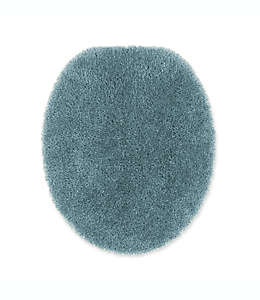 Cubierta universal para tapa de inodoro Wamsutta® Duet en azul mar