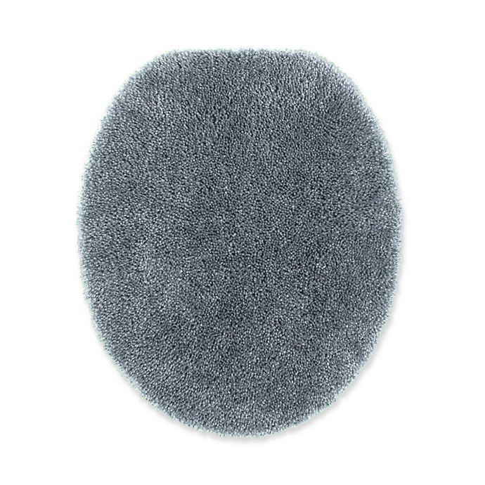 Alternate image 1 for Wamsutta® Duet Elongated Toilet Lid Cover in Slate