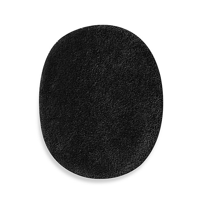Alternate image 1 for Wamsutta® Duet Universal Toilet Lid Cover in Ebony