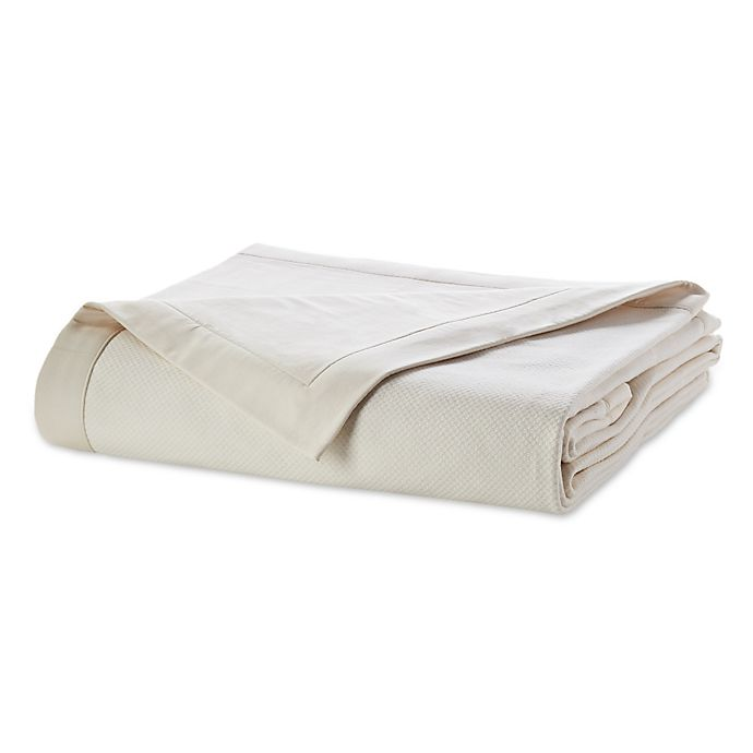 Alternate image 1 for Wamsutta® Dream Zone® Full/Queen MICRO COTTON® Sheet Blanket in Ivory