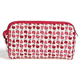 Keep Leaf Toiletry Bag/Diaper Clutch in Fruit Print