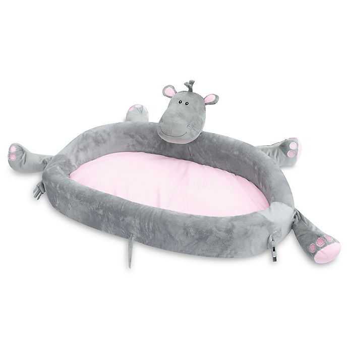 Alternate image 1 for LulyZoo® Toddler Hippo Lounge Play Mat