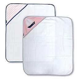 Nautica 2-Pack Hooded Towel Set in Pink