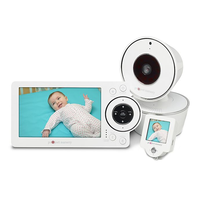 Alternate image 1 for Project Nursery® HD Video Baby Monitor System with 1.5-Inch Mini Monitor
