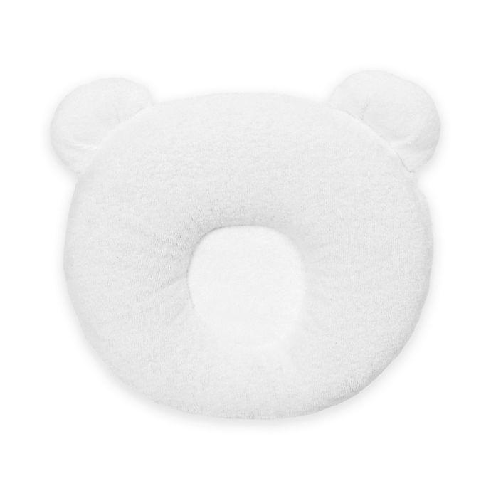 Candide Luxury Panda Head Cushion In White Buybuy Baby