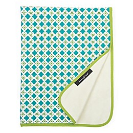 Organic Cotton Tiles Stroller Blanket