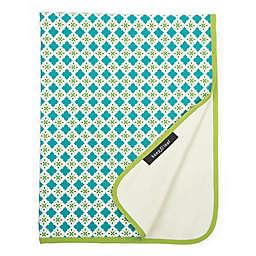 Organic Cotton Tiles Stroller Blanket