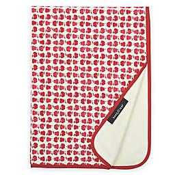 Organic Cotton Fruit Stroller Blanket