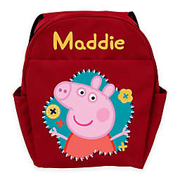 Peppa Pig Flower Fun Youth Backpack in Red