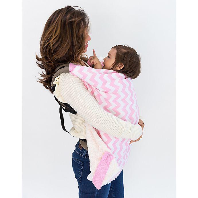 Alternate image 1 for Bella Bundles™ Infant 4-in-1 Blanket on the Go in Pink Chevron