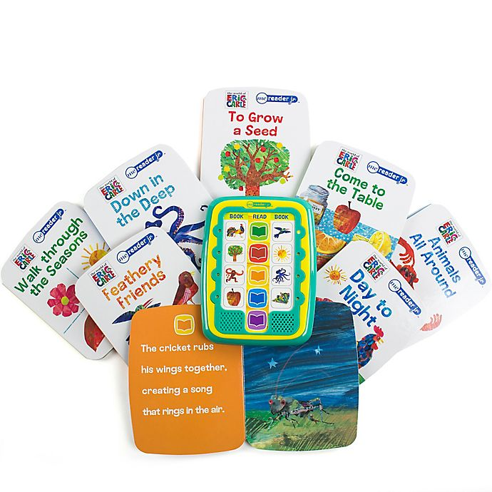 Alternate image 1 for Me Reader Jr. The World of Eric Carle Electronic Reader and 8-Book Set