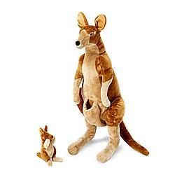 Melissa and Doug® Kangaroo and Joey Plush
