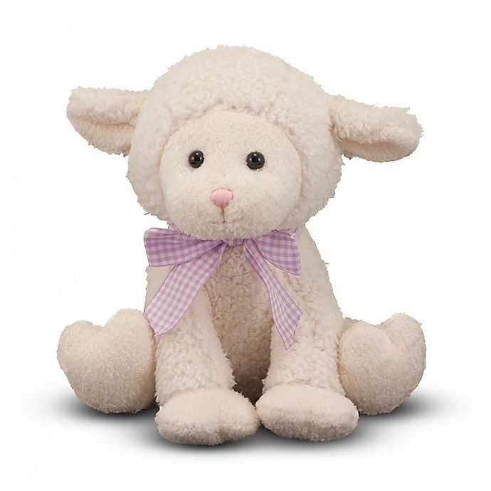 Alternate image 1 for Melissa and Doug® Meadow Medley Lamby Plush