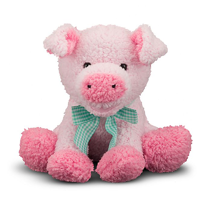 Alternate image 1 for Melissa and Doug® Meadow Medley Piggy Plush