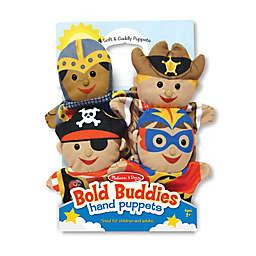 Melissa and Doug® Bold Buddies Hand Puppets (Set of 4)