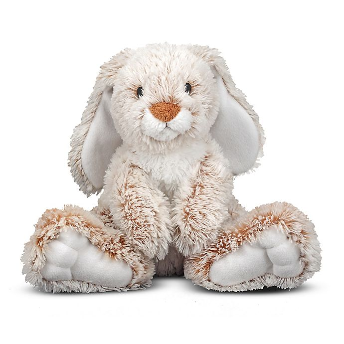 Alternate image 1 for Melissa and Doug® Burrow Bunny Plush
