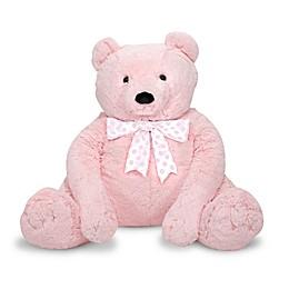 Melissa and Doug® Jumbo Teddy Bear Plush in Pink
