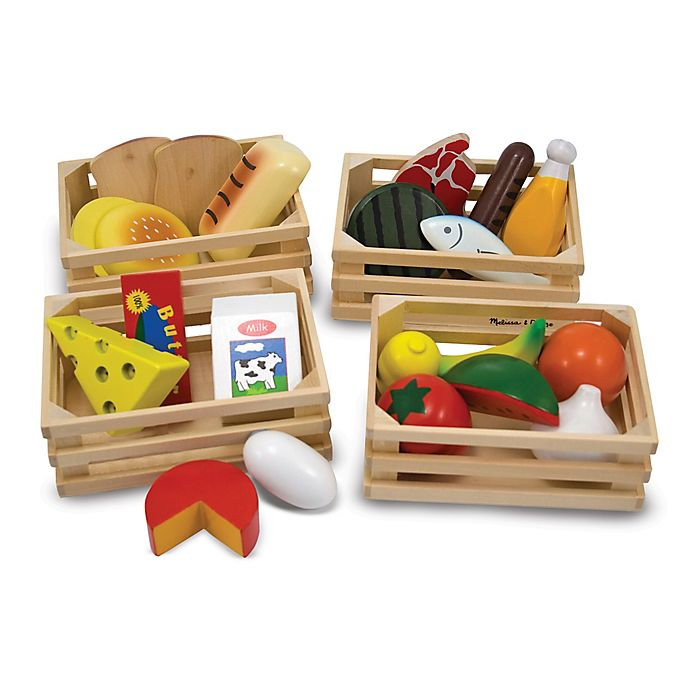 Alternate image 1 for Melissa and Doug® Food Groups Activity Set