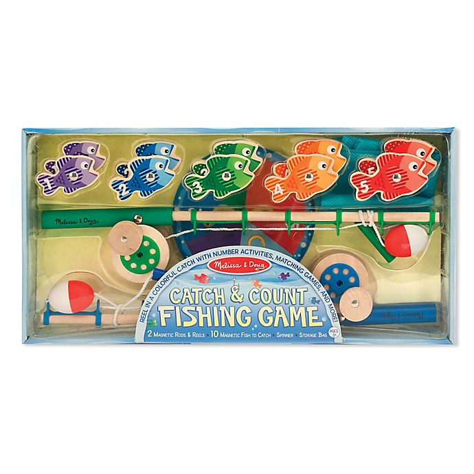 Alternate image 1 for Melissa and Doug® Catch and Count Fishing Game