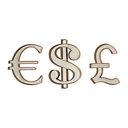 Sterling Industries 3-Piece Currency Wall Art