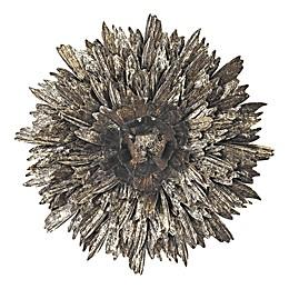 Golden Roast Metal Foliage Explosion Wall Décor