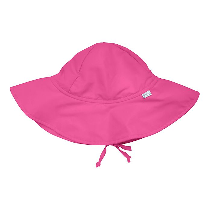 Alternate image 1 for i play.® Infant Brim Sun Hat in Hot Pink