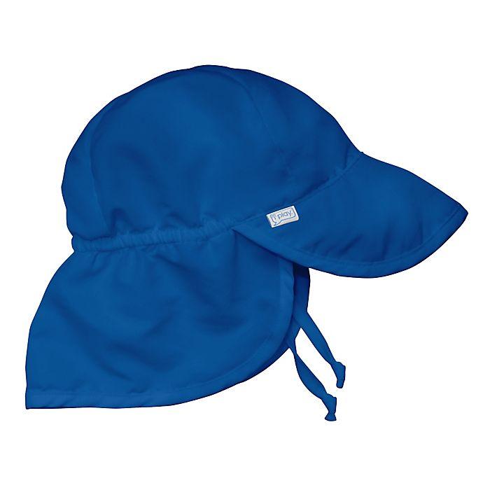 Alternate image 1 for i play.® Infant Sun Flap Hat in Royal Blue