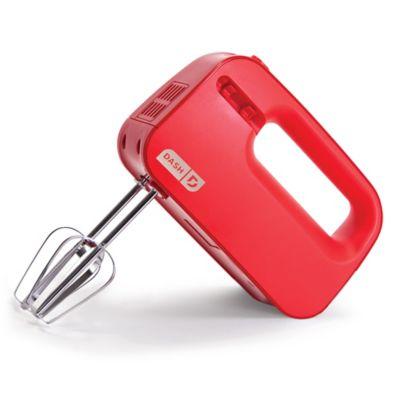 Dash SmartStore Hand Mixer - Red SHM01DSRD