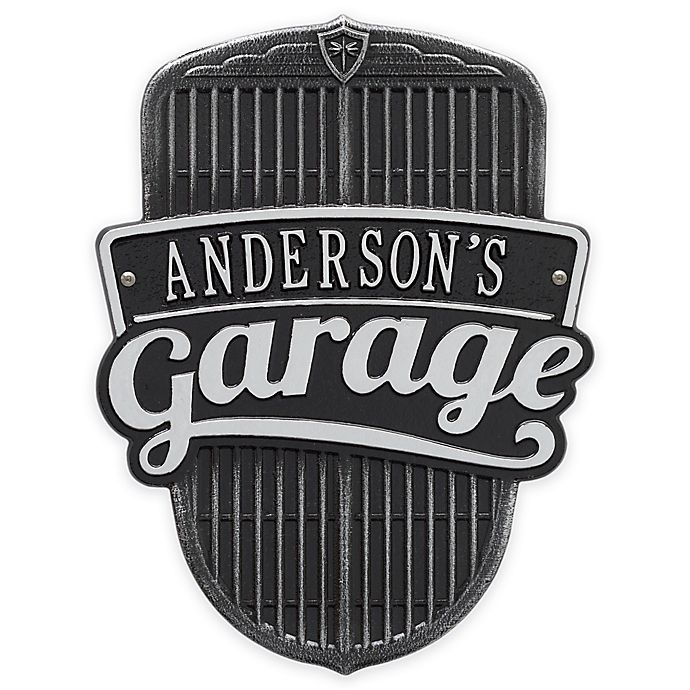 Alternate image 1 for Whitehall Products 14.5-Inch Car Grill Garage Plaque