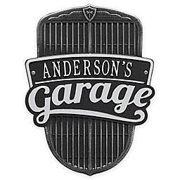 Whitehall Products 14.5-Inch Car Grill Garage Plaque