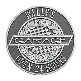 Whitehall Products 12-Inch Victory Lane Garage Plaque