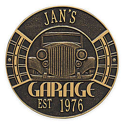 Whitehall Products 11.5-Inch Vintage Car Garage Plaque