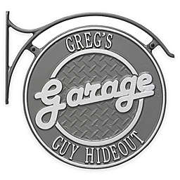 Whitehall Products 14-Inch Hanging Garage Plaque with Bracket