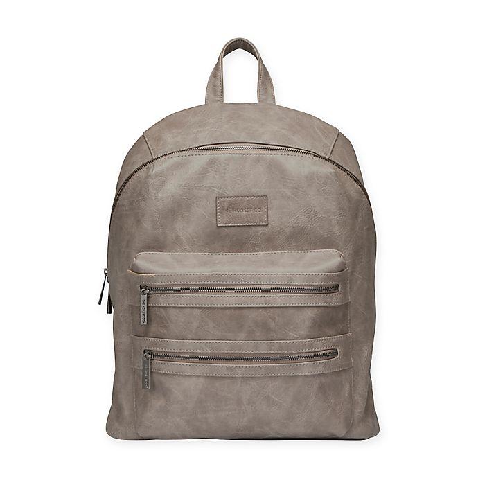 City Backpack Diaper Bag In Slate Grey