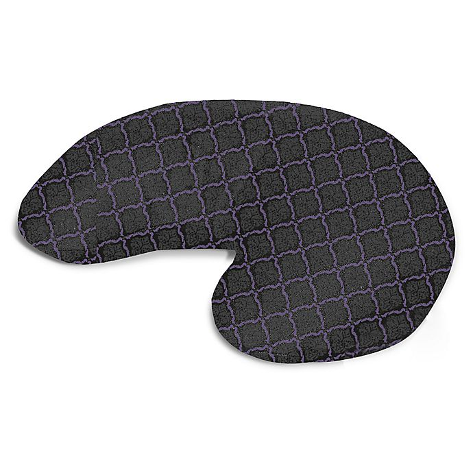 Alternate image 1 for bucky® Minnie Lattice Compact Round Neck Pillow
