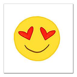 Love Emoji Canvas Wall Art