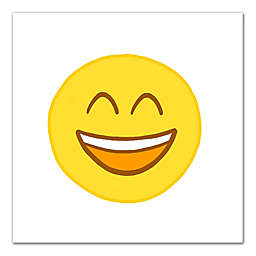 Happy Emoji Canvas Wall Art