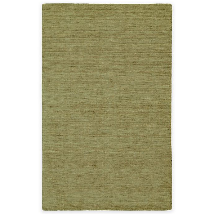 Alternate image 1 for Feizy Roma 5-Foot x 8-Foot Area Rug in Light Green