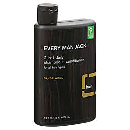 Every Man Jack® 13.5 fl. oz. 2-in-1 Daily Shampoo + Conditioner in Sandlewood