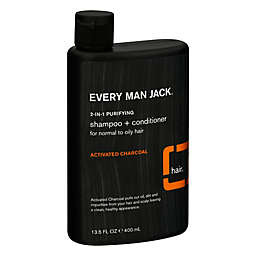 Every Man Jack® 13.5 oz. 2-in-1 Purifying Shampoo + Conditioner