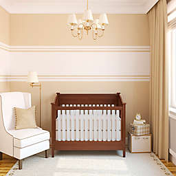 Go Mama Go Designs® Organic Cotton Slat Covers and Teething Guards in Ivory