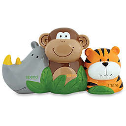 Stephen Joseph® Zoo Spend, Save, and Share Bank in Brown